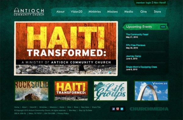 Professional Web Design | Church Media | Creative Tempest